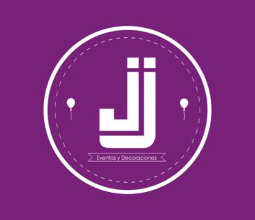 Isologo para JJ Eventos y Decoraciones